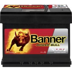 Baterie Auto Banner Power Bull 12V 62 Ah 550A