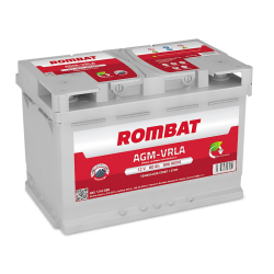 Baterie Auto Rombat 80 Ah AGM