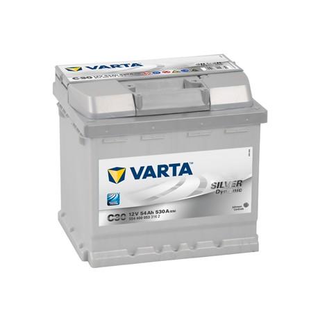 Baterie Auto VARTA SILVER DYNAMIC 52 Ah C30 554400053