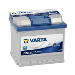 Baterie Auto Varta Blue Dynamic 52 Ah C22 552400047