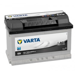 Baterie Auto Varta Black Dynamic 70 Ah E9 570144064