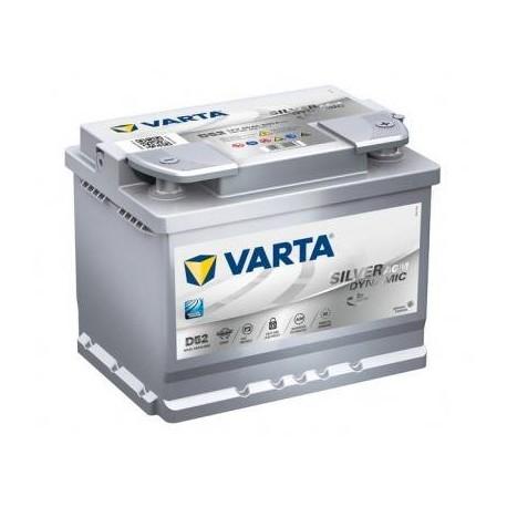 Baterie Auto Varta AGM 60 Ah D52 560901068